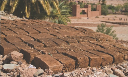 Ancient Egyptian Mud Brick House Egyptian Mud Straw Bricks